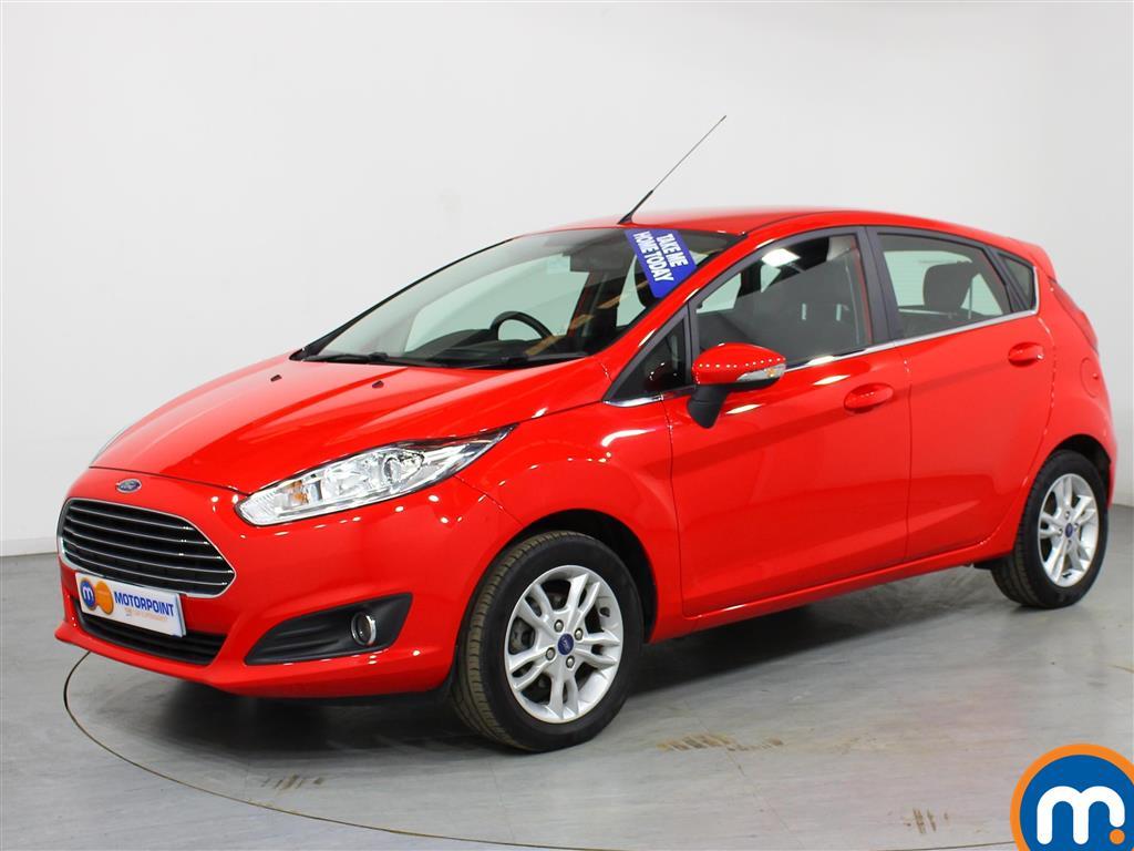 Ford Fiesta Zetec - Stock Number (996968) - Passenger side front corner