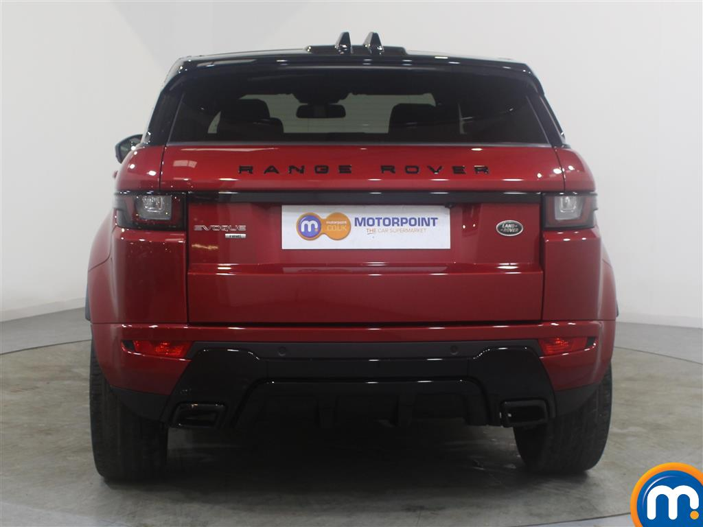 Land Rover Range Rover Evoque Hse Dynamic Automatic Diesel 4X4 - Stock Number (989590) - Rear bumper
