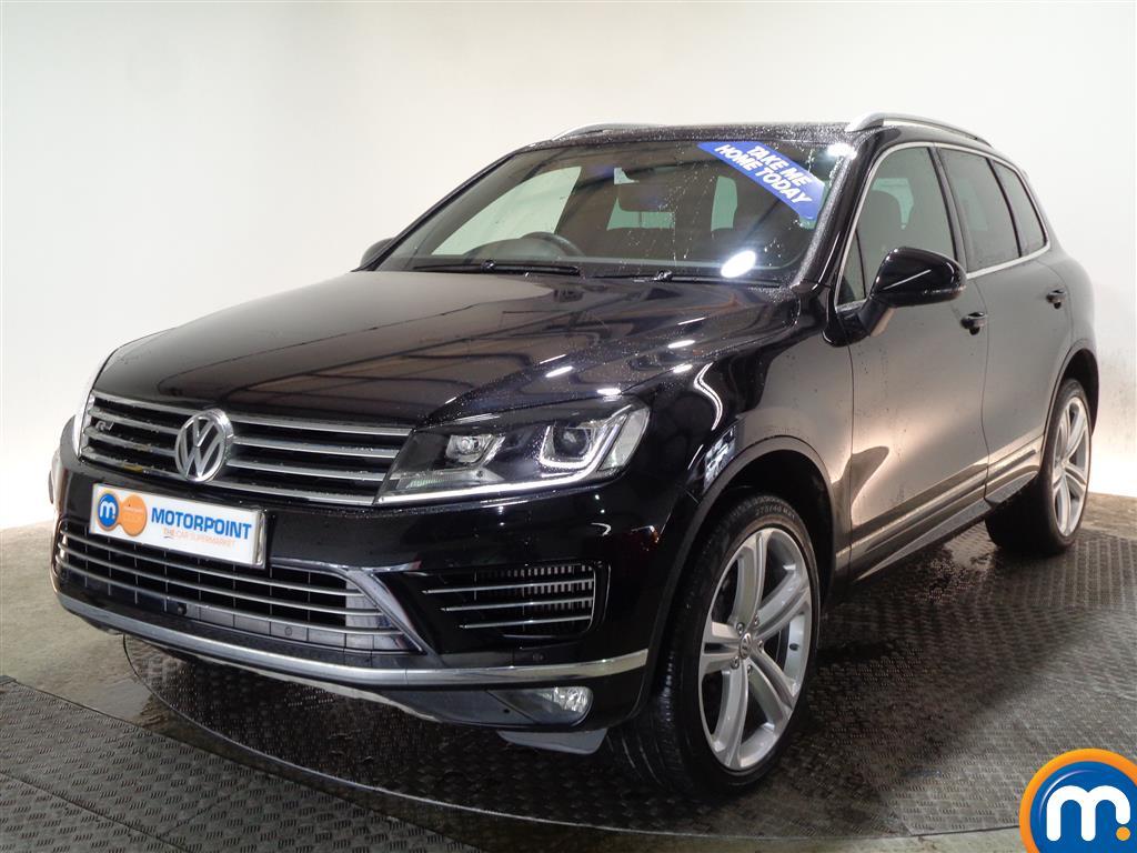 Volkswagen Touareg R Line Plus - Stock Number (994508) - Passenger side front corner