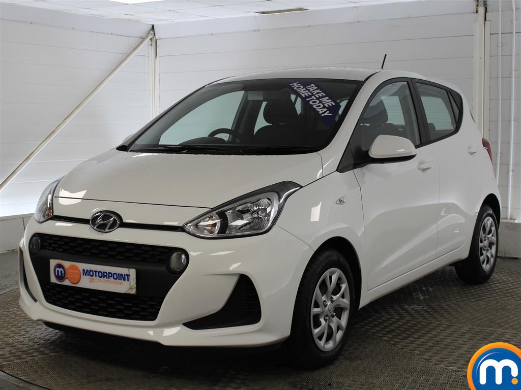 Hyundai I10 SE Manual Petrol Hatchback - Stock Number (993539) - Passenger side front corner