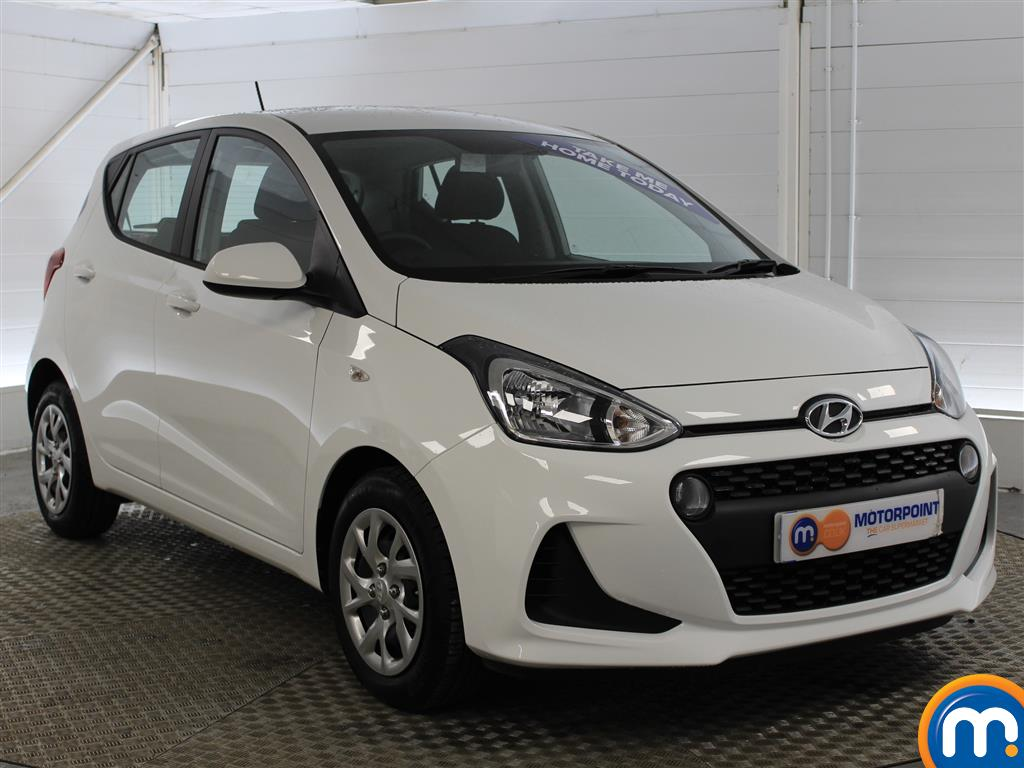 Hyundai I10 SE Manual Petrol Hatchback - Stock Number (993539) - Drivers side front corner