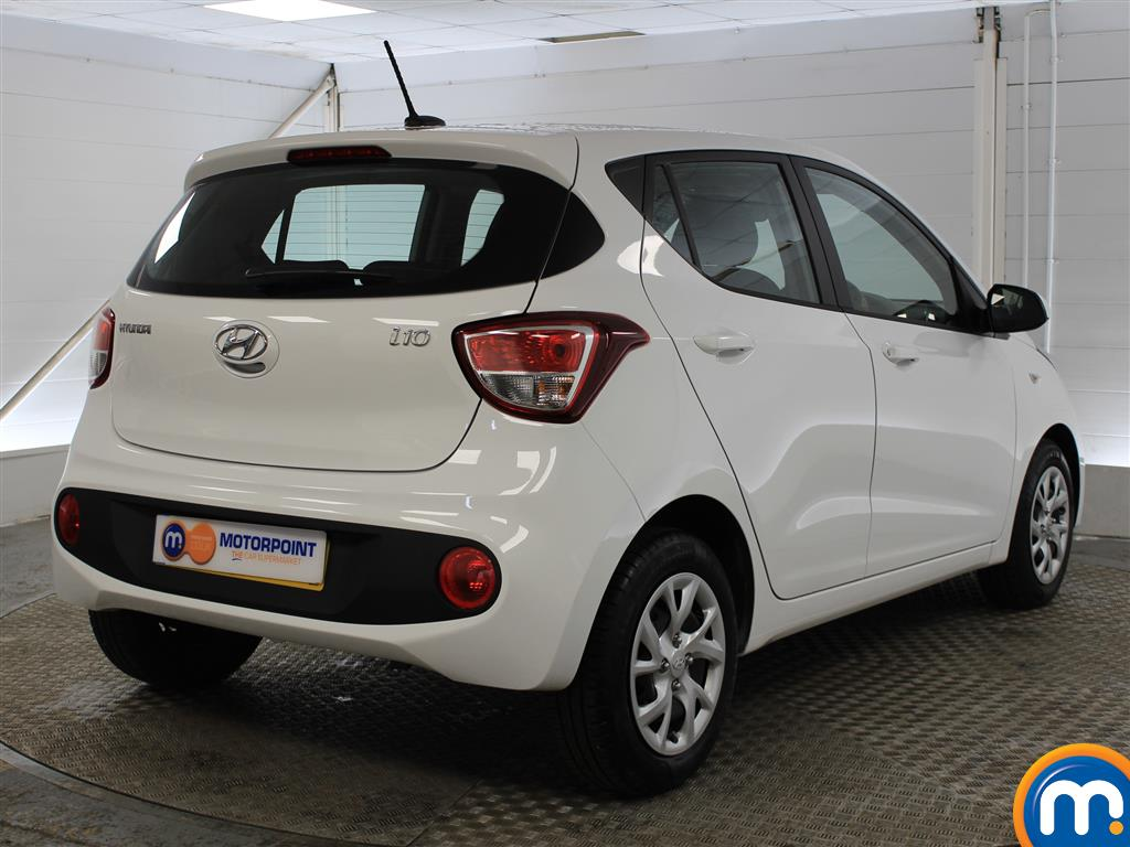 Hyundai I10 SE Manual Petrol Hatchback - Stock Number (993539) - Drivers side rear corner