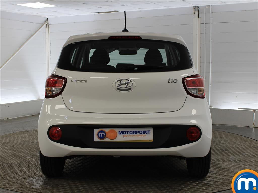 Hyundai I10 SE Manual Petrol Hatchback - Stock Number (993539) - Rear bumper