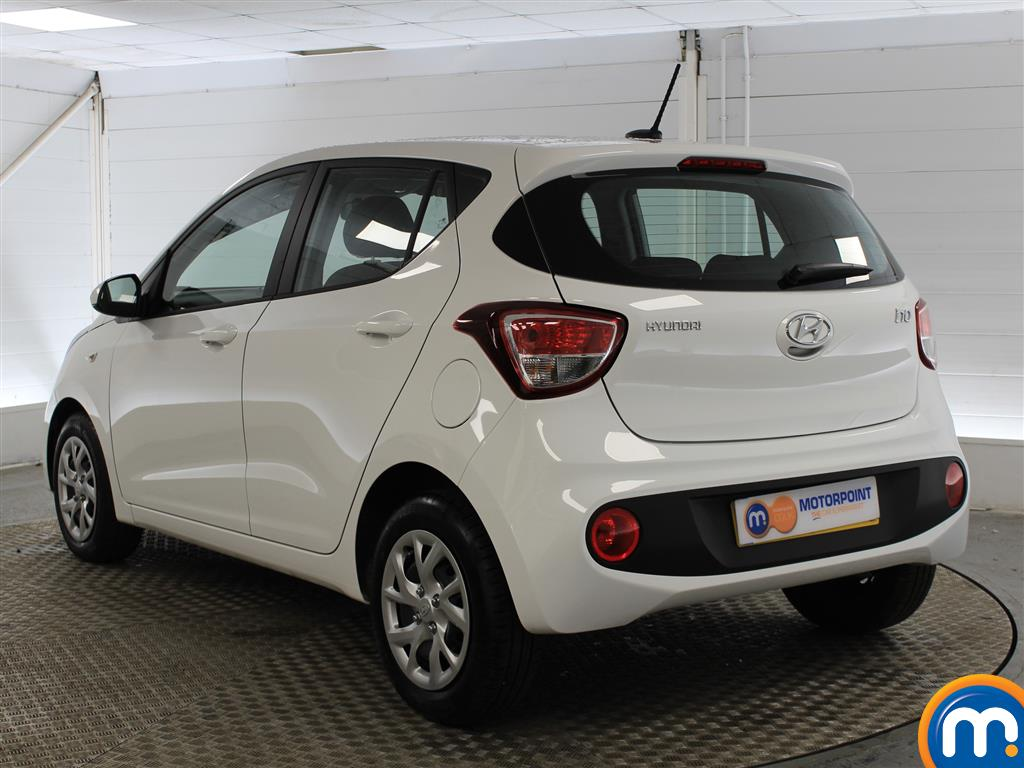 Hyundai I10 SE Manual Petrol Hatchback - Stock Number (993539) - Passenger side rear corner