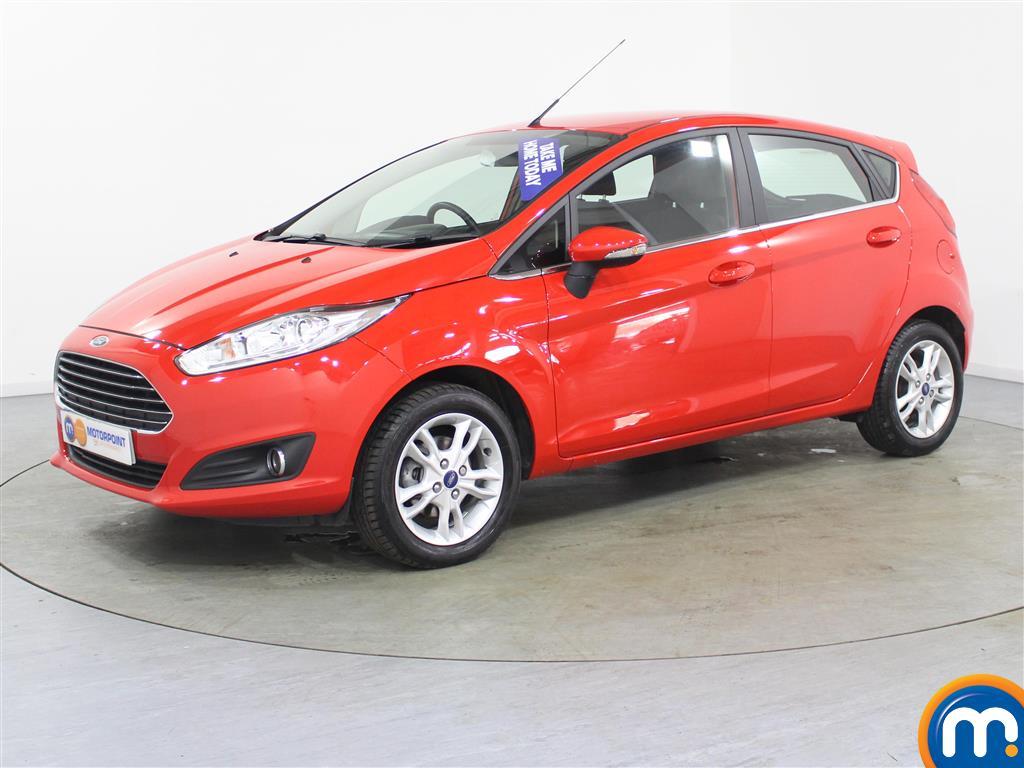 Ford Fiesta Zetec - Stock Number (996017) - Passenger side front corner