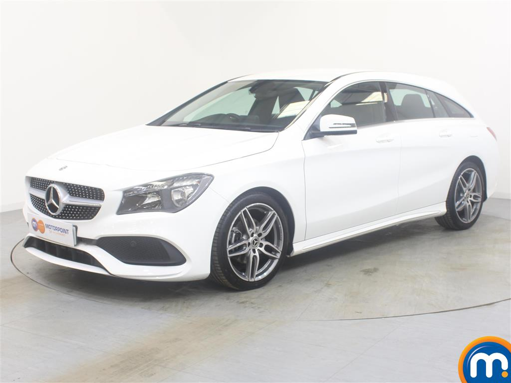 Mercedes-Benz Cla Class AMG Line - Stock Number (998070) - Passenger side front corner