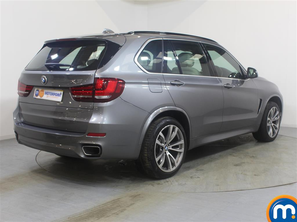 BMW X5 M Sport Automatic Diesel 4X4 - Stock Number (993166) - Drivers side rear corner