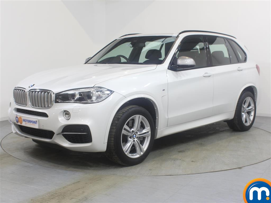 BMW X5 xDrive M50d 5dr Auto - Stock Number (994333) - Passenger side front corner