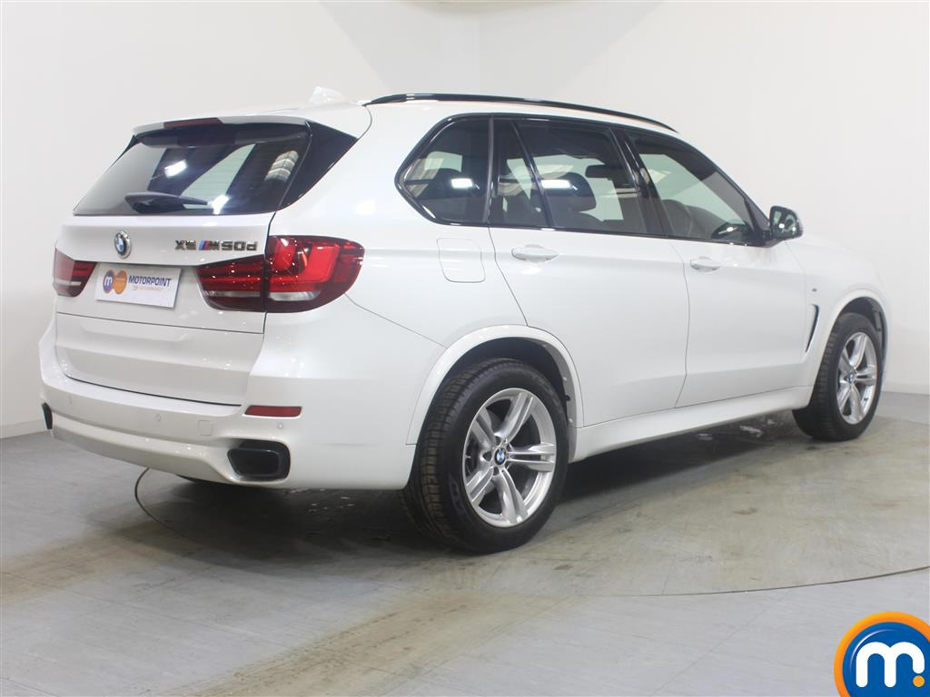 BMW X5 Xdrive M50d 5Dr Auto Automatic Diesel 4X4 - Stock Number (994333) - Drivers side rear corner