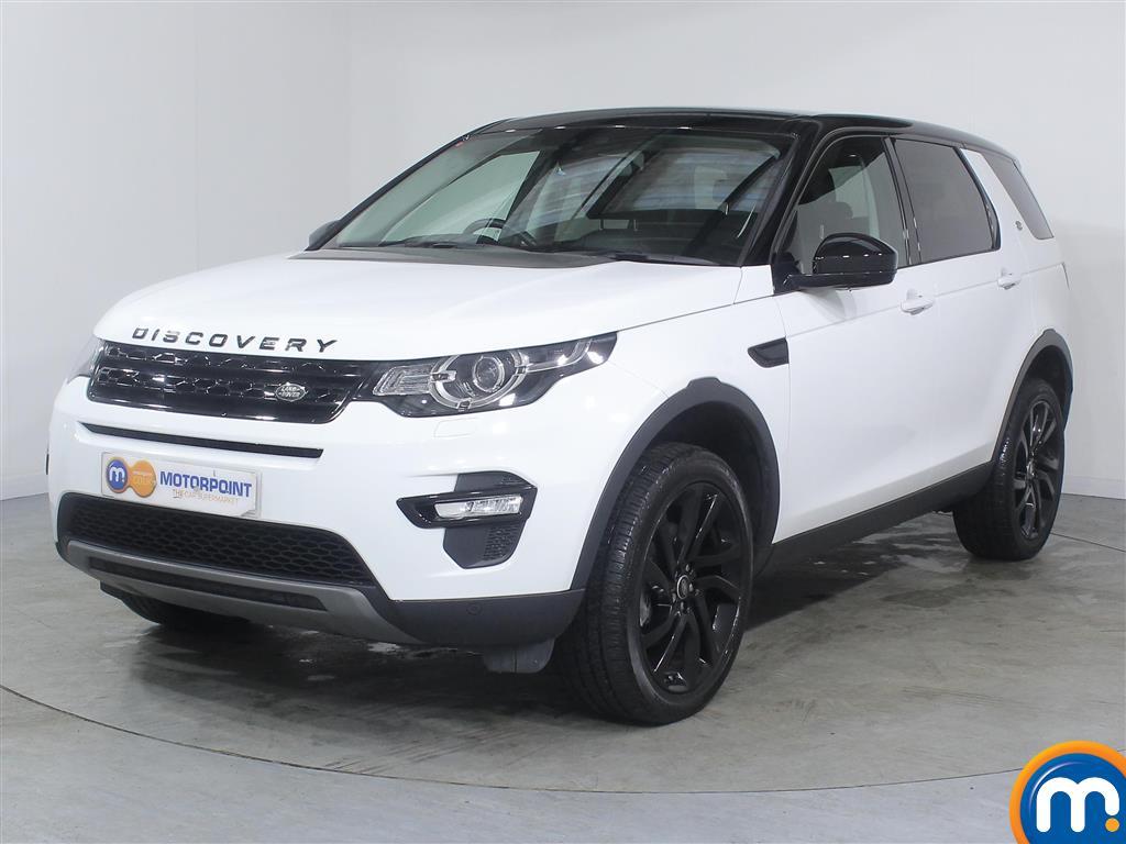 Land Rover Discovery Sport HSE Black - Stock Number (995535) - Passenger side front corner