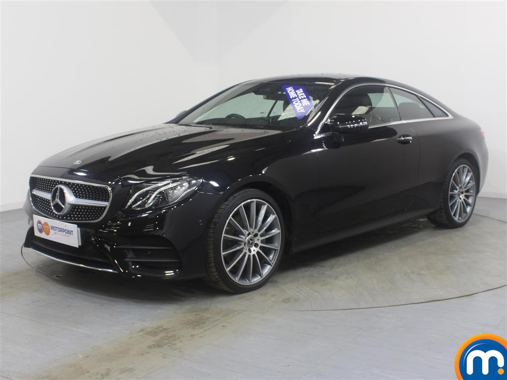 Mercedes-Benz E Class Amg Line Automatic Diesel Coupe - Stock Number (988041) - Passenger side front corner