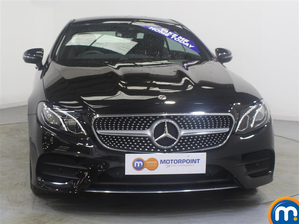 Mercedes-Benz E Class Amg Line Automatic Diesel Coupe - Stock Number (988041) - Front bumper