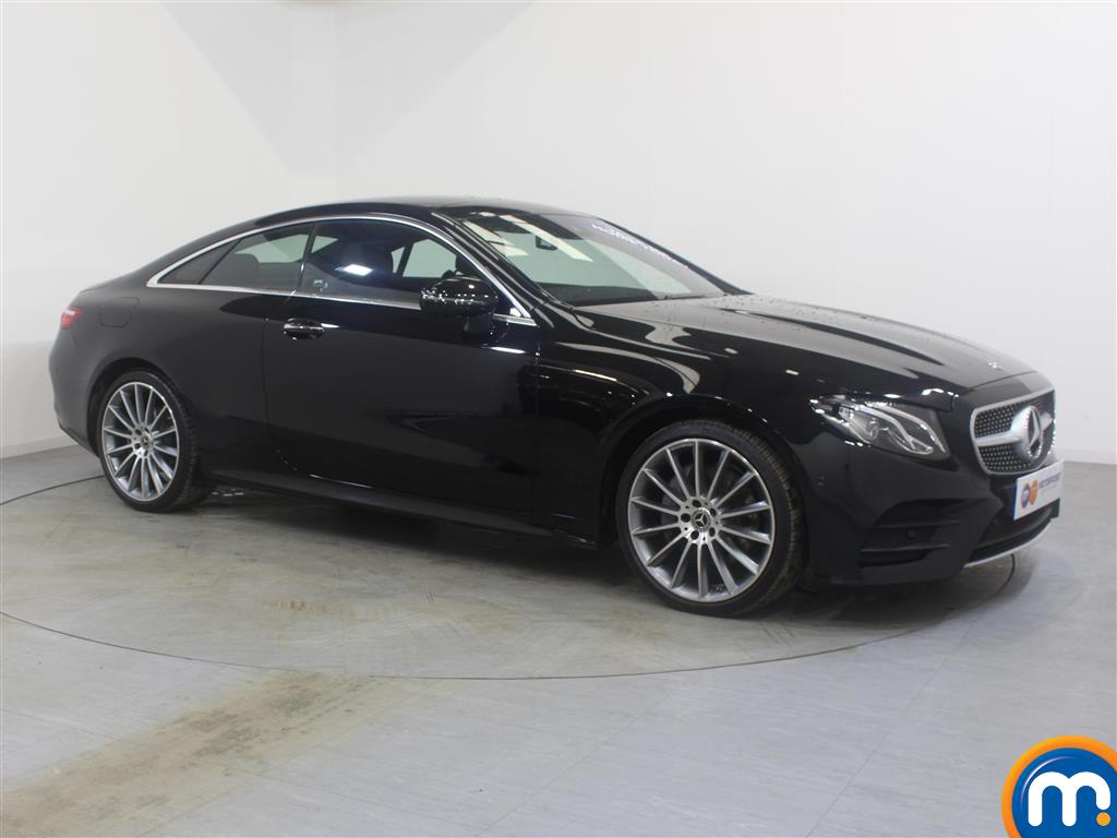 Mercedes-Benz E Class Amg Line Automatic Diesel Coupe - Stock Number (988041) - Drivers side front corner