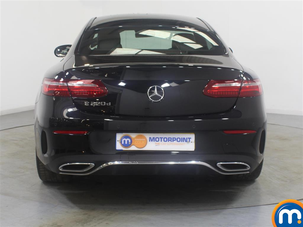 Mercedes-Benz E Class Amg Line Automatic Diesel Coupe - Stock Number (988041) - Rear bumper