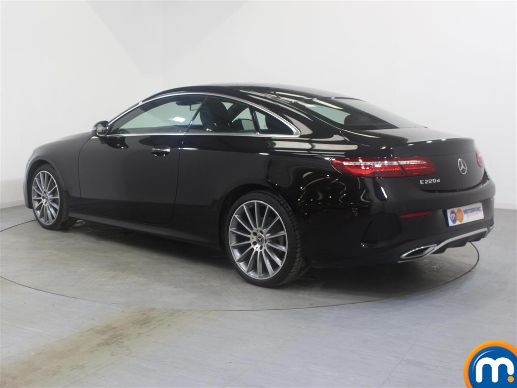 Mercedes-Benz E Class Amg Line Automatic Diesel Coupe - Stock Number (988041) - Passenger side rear corner