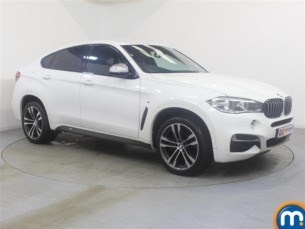 BMW X6 Xdrive M50d 5Dr Auto Automatic Diesel Estate - Stock Number (992222) - Drivers side front corner