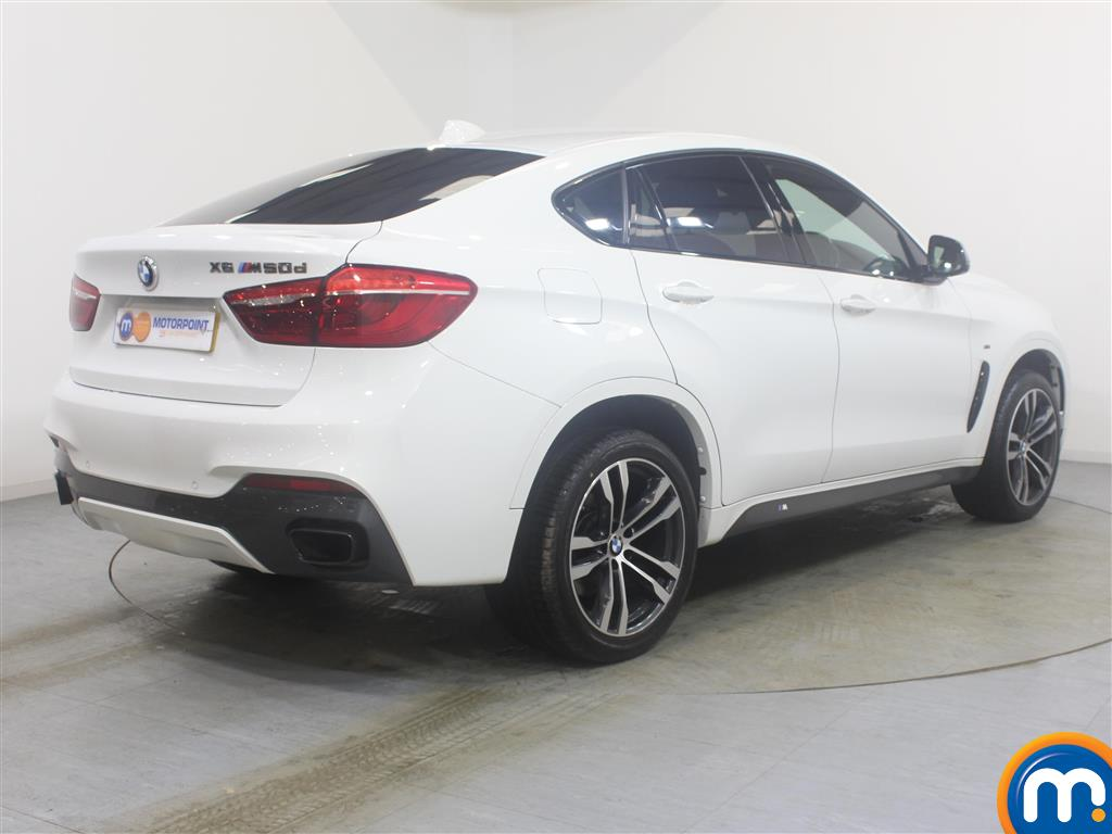 BMW X6 Xdrive M50d 5Dr Auto Automatic Diesel Estate - Stock Number (992222) - Drivers side rear corner