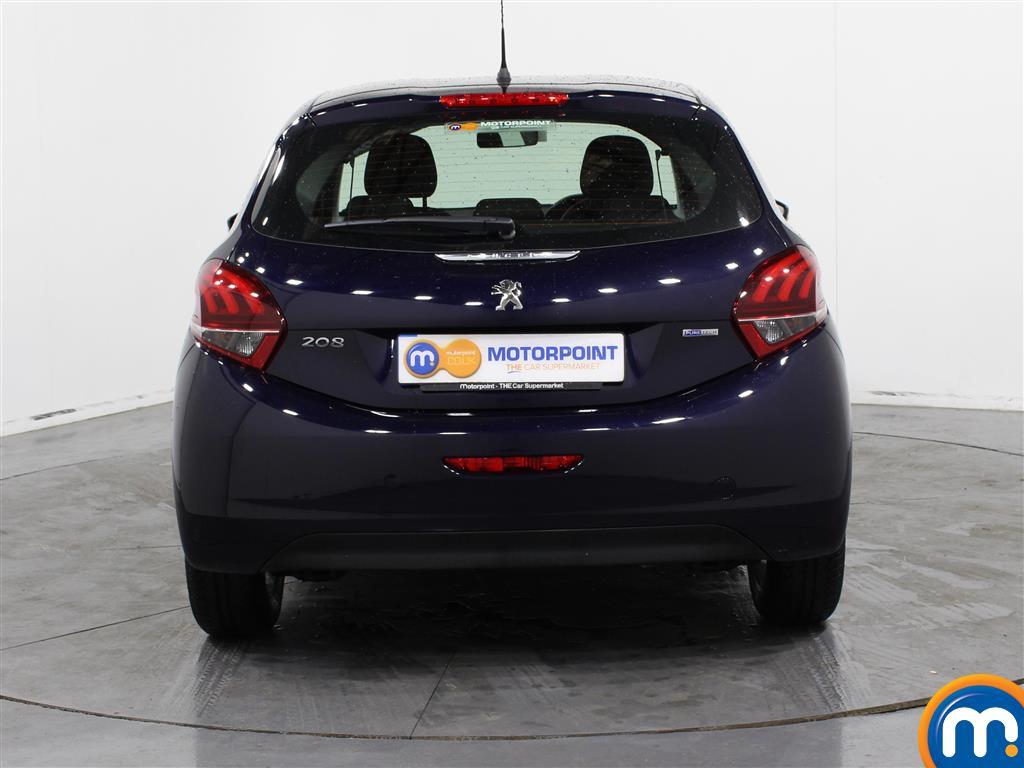 Peugeot 208 Active Manual Petrol Hatchback - Stock Number (994536) - Rear bumper