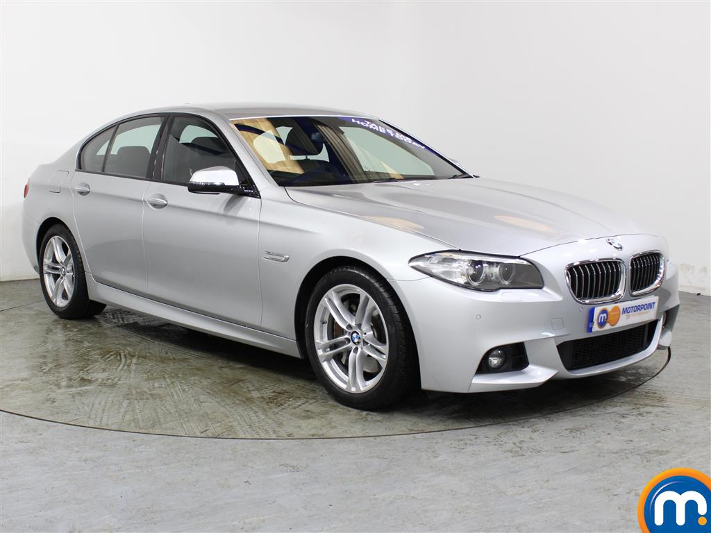 BMW 5 Series M Sport Automatic Diesel Saloon - Stock Number (990470) - Drivers side front corner