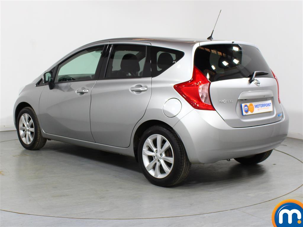 Nissan Note Tekna Manual Diesel Hatchback - Stock Number (951664) - Passenger side rear corner
