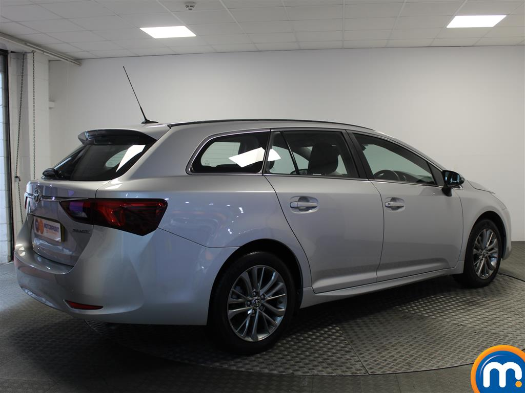 Toyota Avensis Business Edition Manual Diesel Estate - Stock Number (993296) - Drivers side rear corner