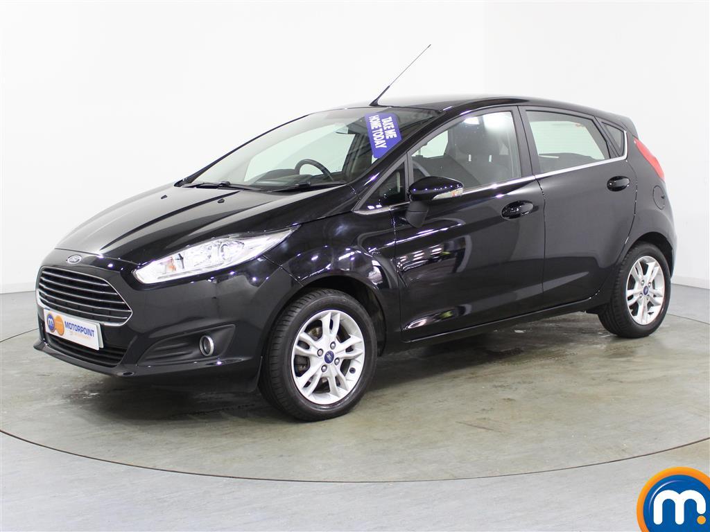 Ford Fiesta Zetec - Stock Number (995152) - Passenger side front corner