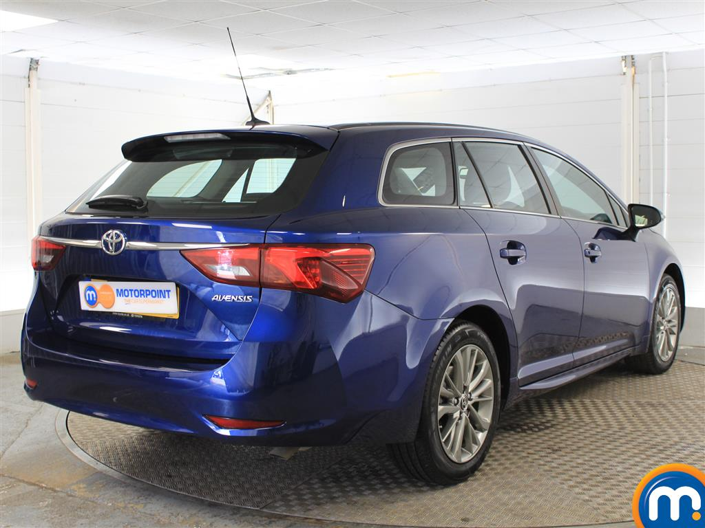 Toyota Avensis Business Edition Manual Diesel Estate - Stock Number (996265) - Drivers side rear corner