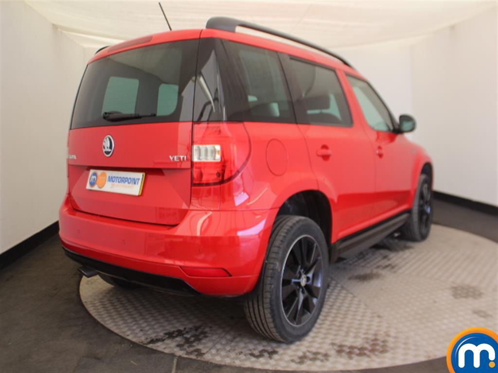 Skoda Yeti Monte Carlo Automatic Petrol Estate - Stock Number (997067) - Drivers side rear corner