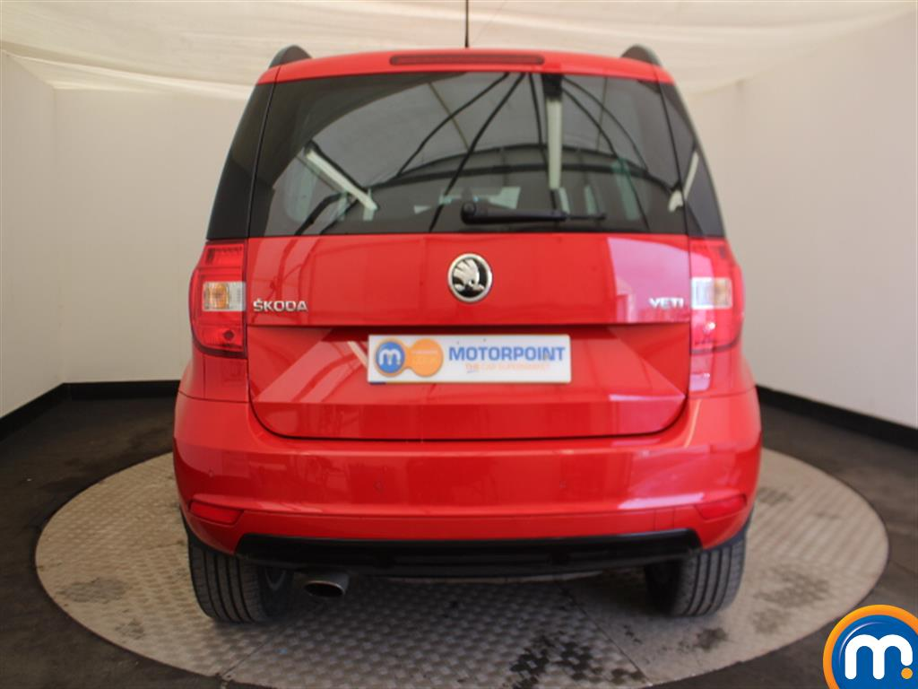 Skoda Yeti Monte Carlo Automatic Petrol Estate - Stock Number (997067) - Rear bumper
