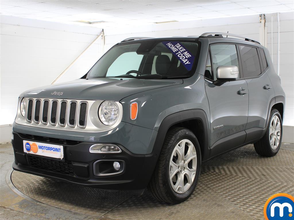 Jeep Renegade Limited - Stock Number (1000022) - Passenger side front corner