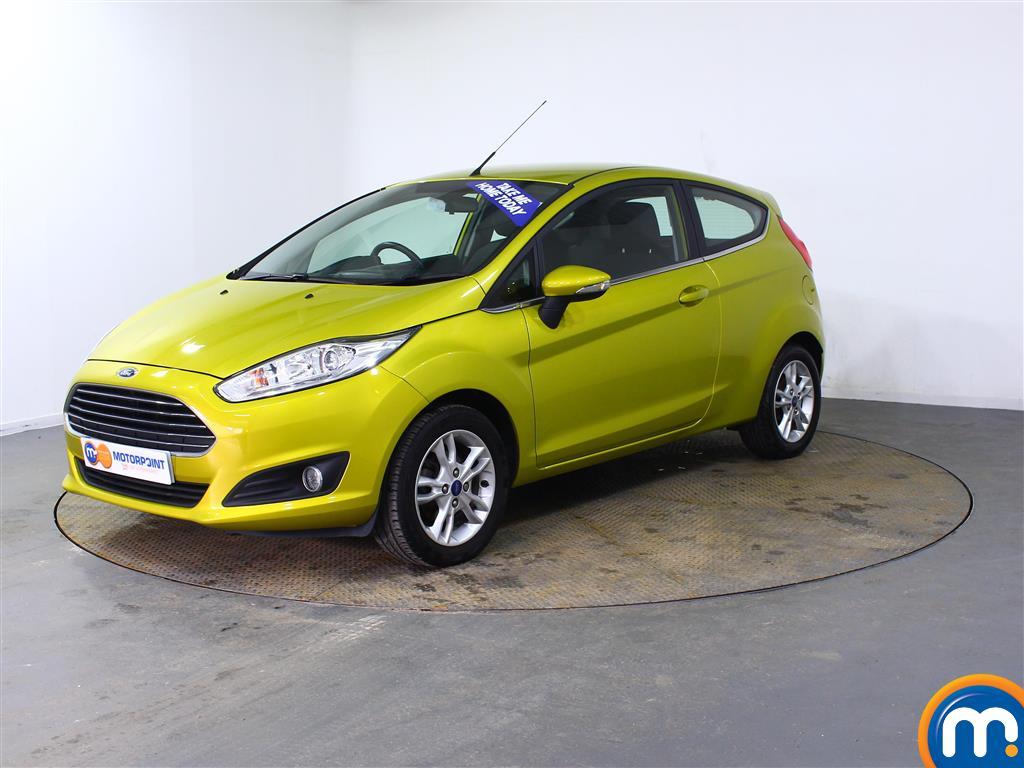 Ford Fiesta Zetec - Stock Number (1000095) - Passenger side front corner