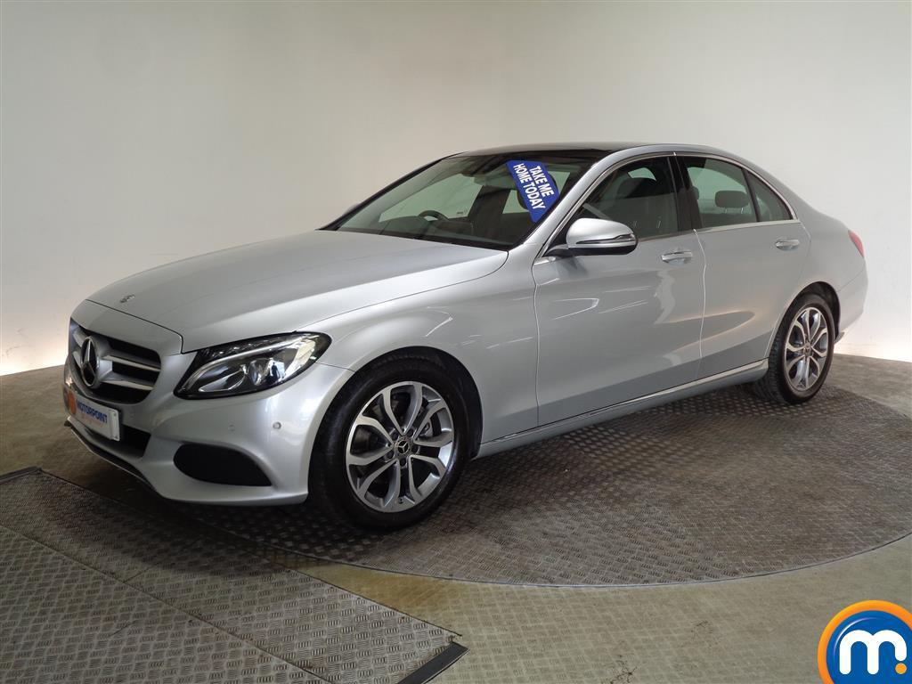 Mercedes-Benz C Class Sport - Stock Number (998631) - Passenger side front corner