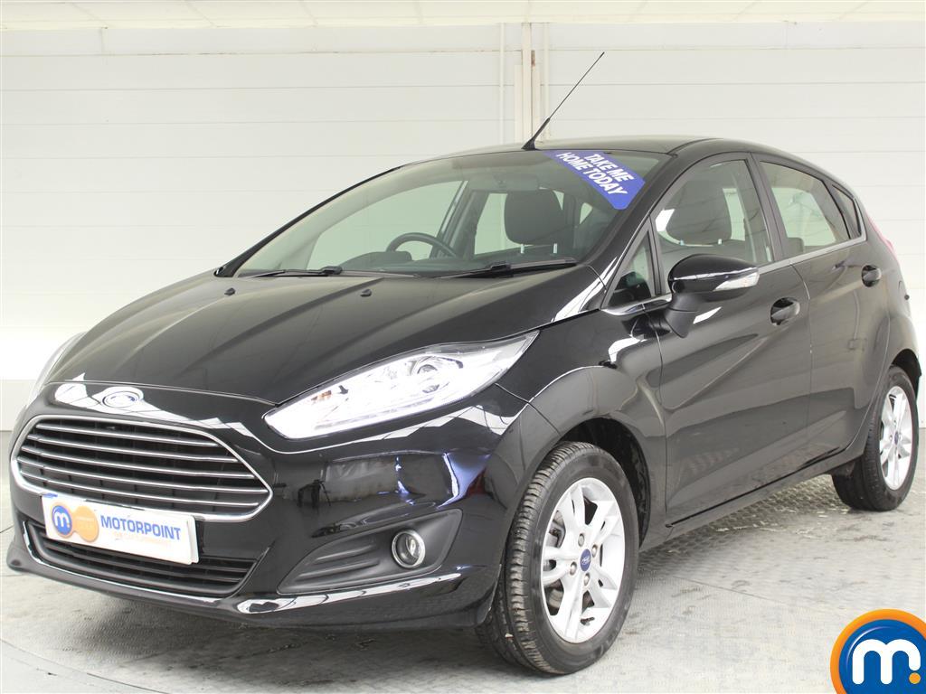 Ford Fiesta Zetec - Stock Number (998115) - Passenger side front corner