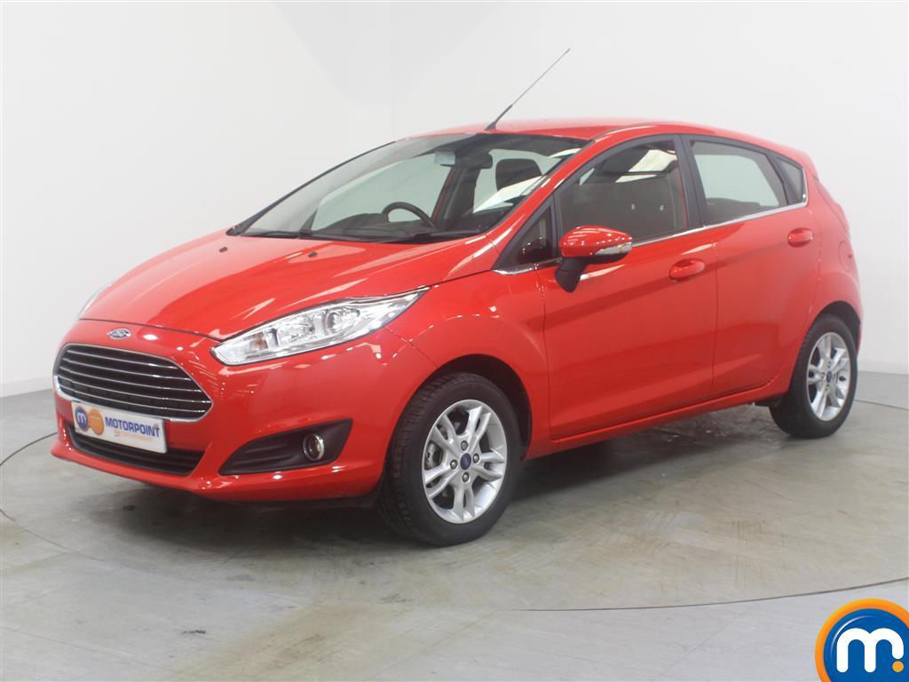 Ford Fiesta Zetec - Stock Number (999271) - Passenger side front corner