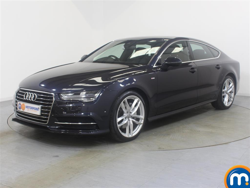 Audi A7 Black Edition - Stock Number (996793) - Passenger side front corner