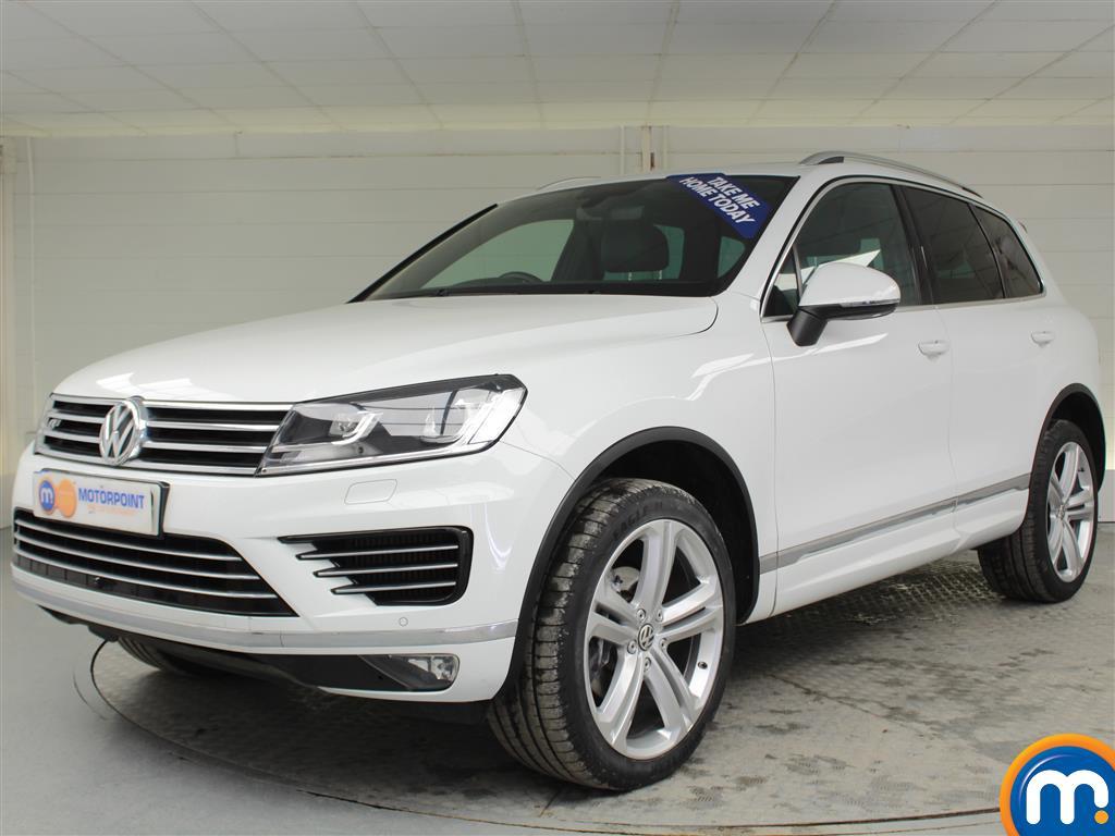 Volkswagen Touareg R Line Plus - Stock Number (995020) - Passenger side front corner