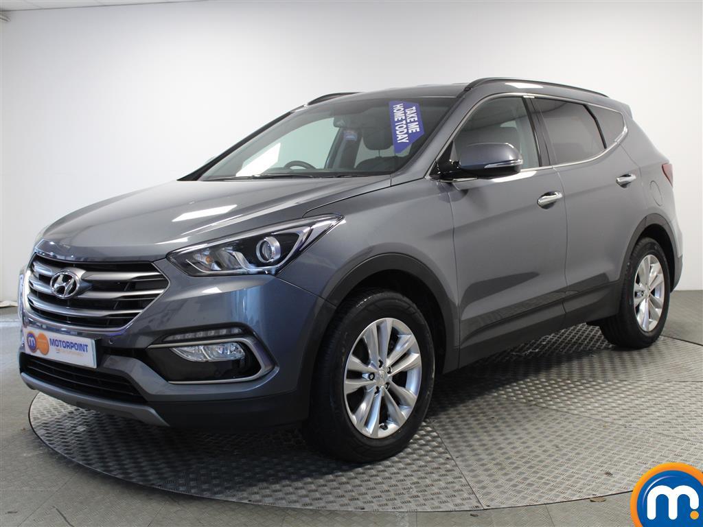 Hyundai Santa Fe Premium - Stock Number (994172) - Passenger side front corner