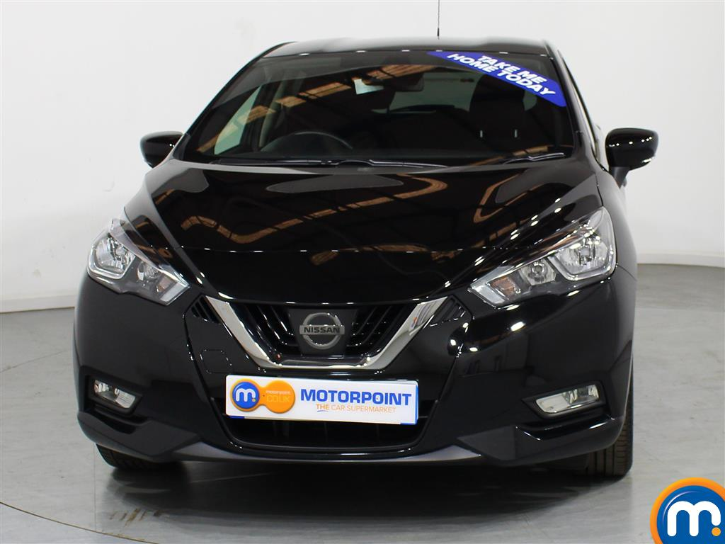 Nissan Micra N-Connecta Manual Petrol Hatchback - Stock Number (999748) - Front bumper