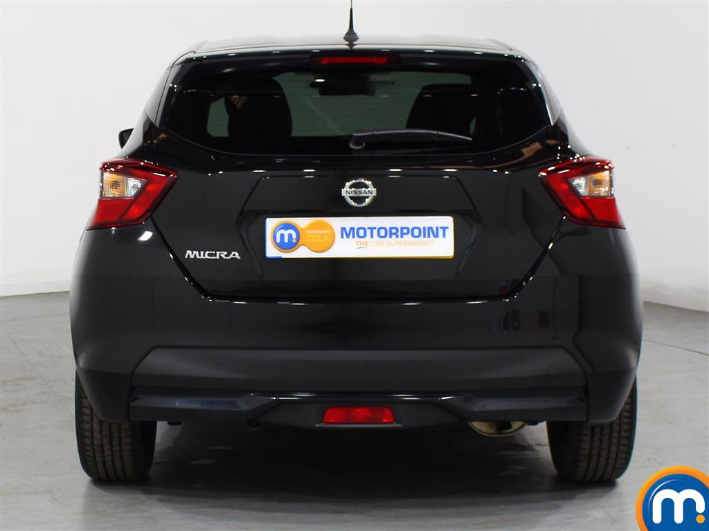 Nissan Micra N-Connecta Manual Petrol Hatchback - Stock Number (999748) - Rear bumper