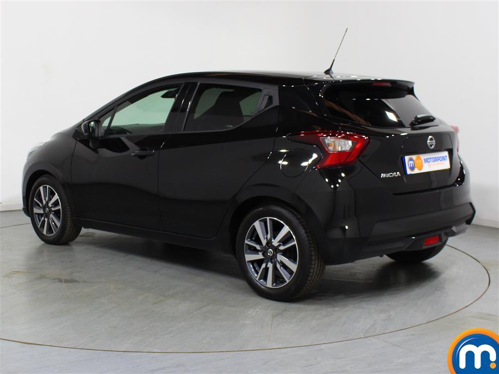 Nissan Micra N-Connecta Manual Petrol Hatchback - Stock Number (999748) - Passenger side rear corner