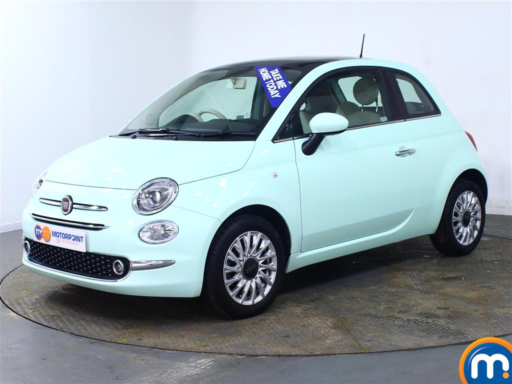 Fiat 500 Lounge - Stock Number (1001247) - Passenger side front corner