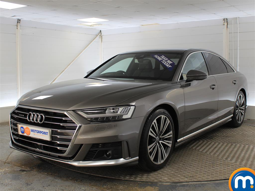 Audi A8 S Line Automatic Diesel Saloon - Stock Number (999307) - Passenger side front corner