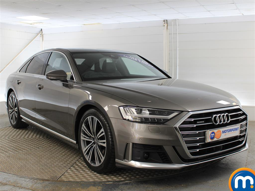 Audi A8 S Line Automatic Diesel Saloon - Stock Number (999307) - Drivers side front corner