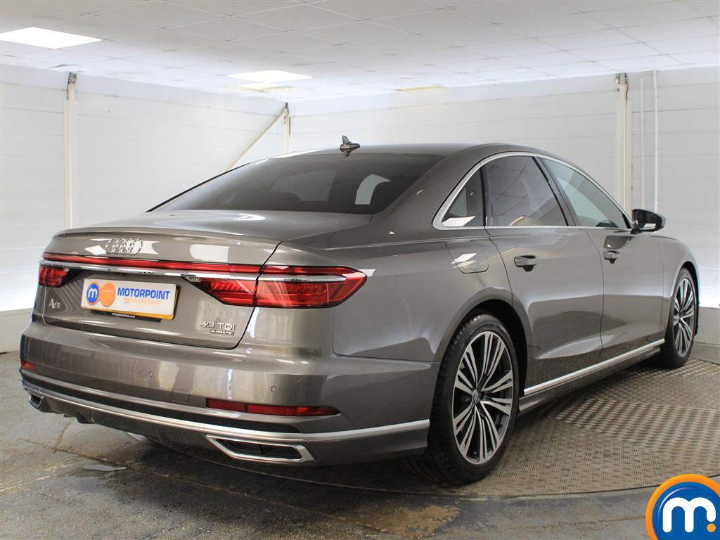 Audi A8 S Line Automatic Diesel Saloon - Stock Number (999307) - Drivers side rear corner