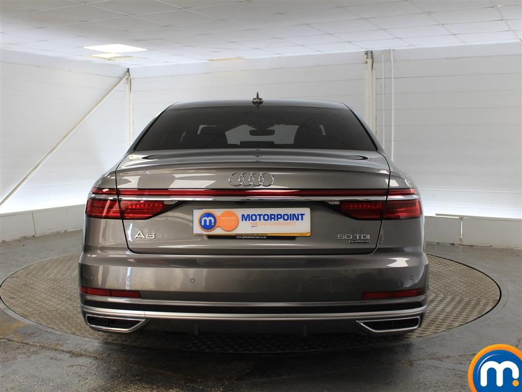 Audi A8 S Line Automatic Diesel Saloon - Stock Number (999307) - Rear bumper