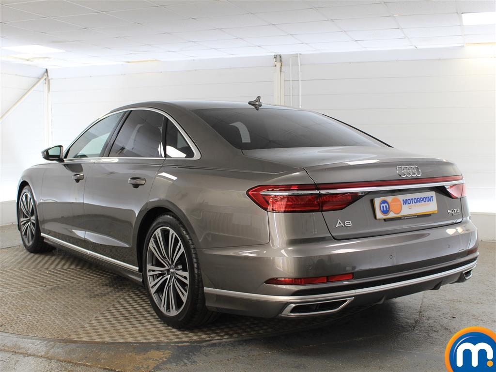 Audi A8 S Line Automatic Diesel Saloon - Stock Number (999307) - Passenger side rear corner