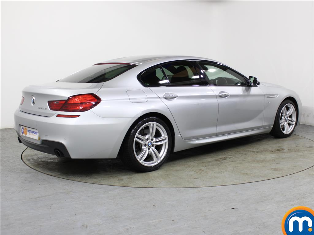 BMW 6 Series M Sport Automatic Diesel Saloon - Stock Number (994361) - Drivers side rear corner