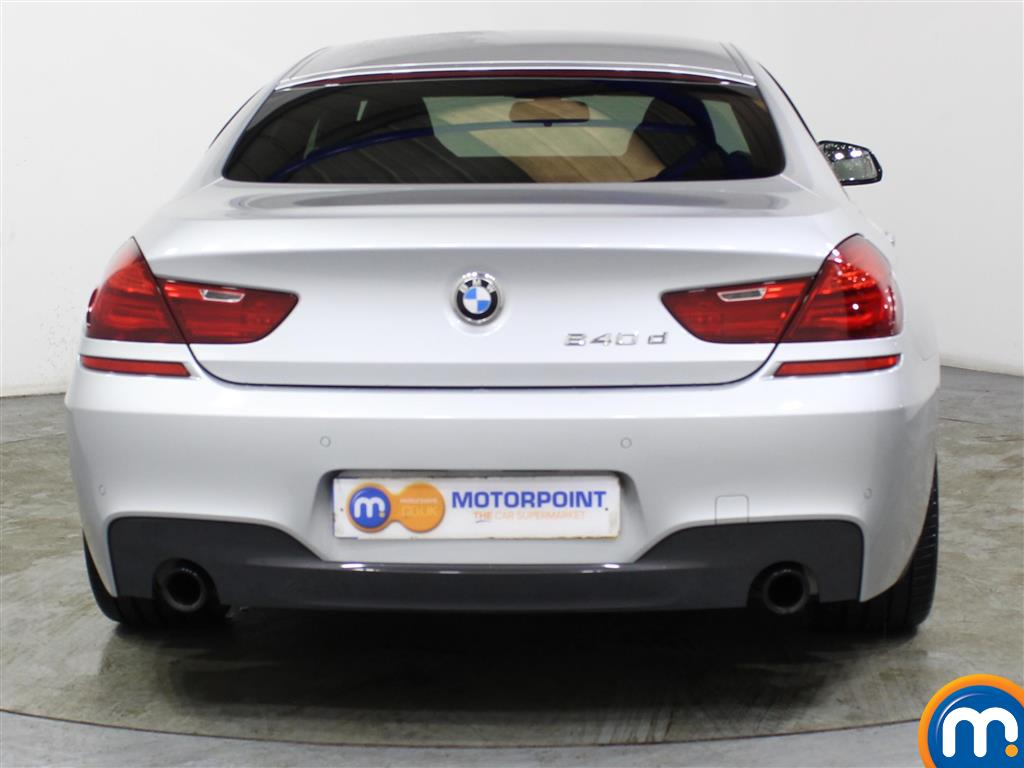 BMW 6 Series M Sport Automatic Diesel Saloon - Stock Number (994361) - Rear bumper