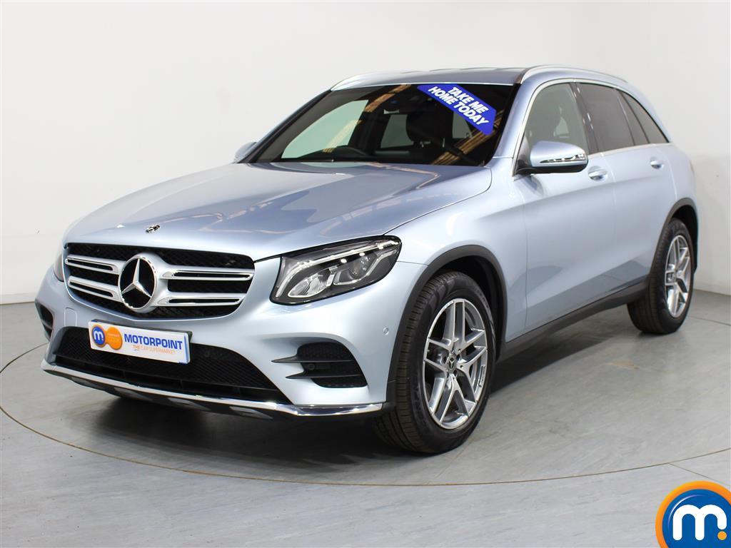 Mercedes-Benz GLC AMG Line - Stock Number (991407) - Passenger side front corner