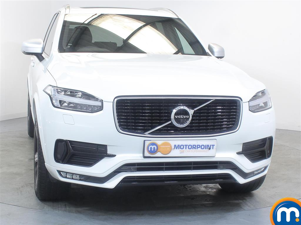 Volvo Xc90 R Design Automatic Diesel 4X4 - Stock Number (983364) - Front bumper